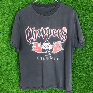 Choppers Forever Thunder Sportswear Graphic Shirt